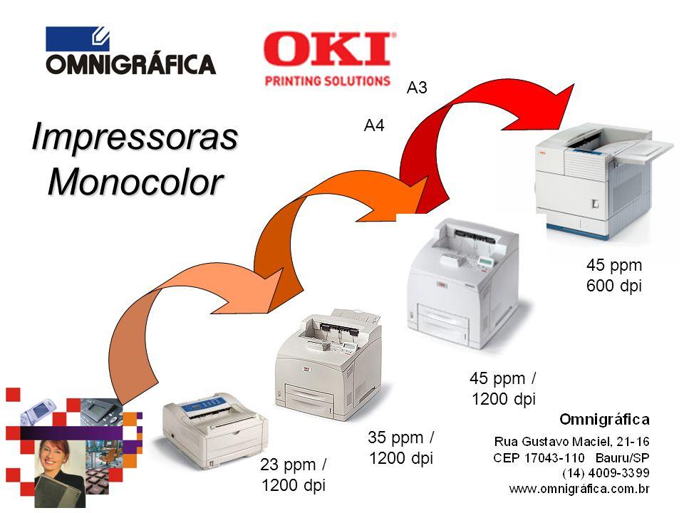 Impressoras Monocolor