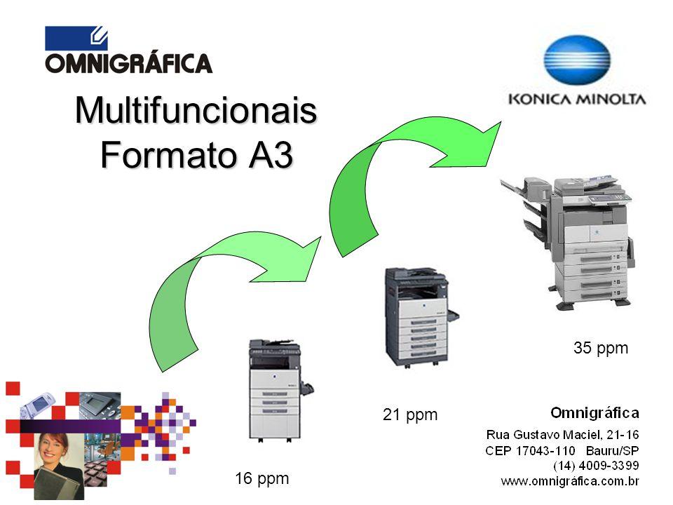 Multifuncionais Formato A3
