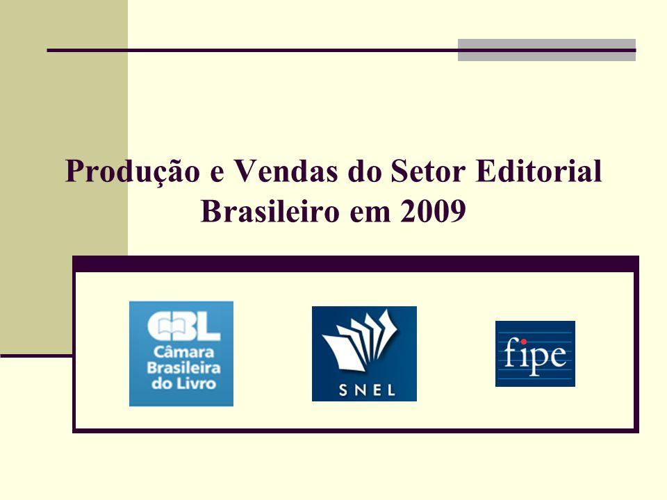 Produção e Vendas do Setor Editorial Brasileiro em 2009