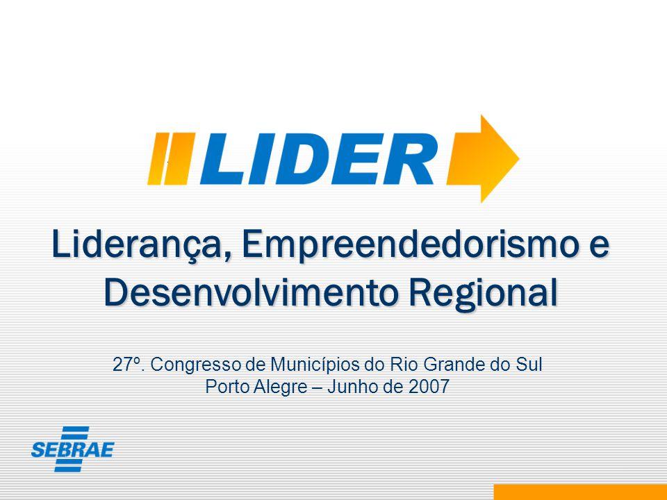 Liderança, Empreendedorismo e Desenvolvimento Regional
