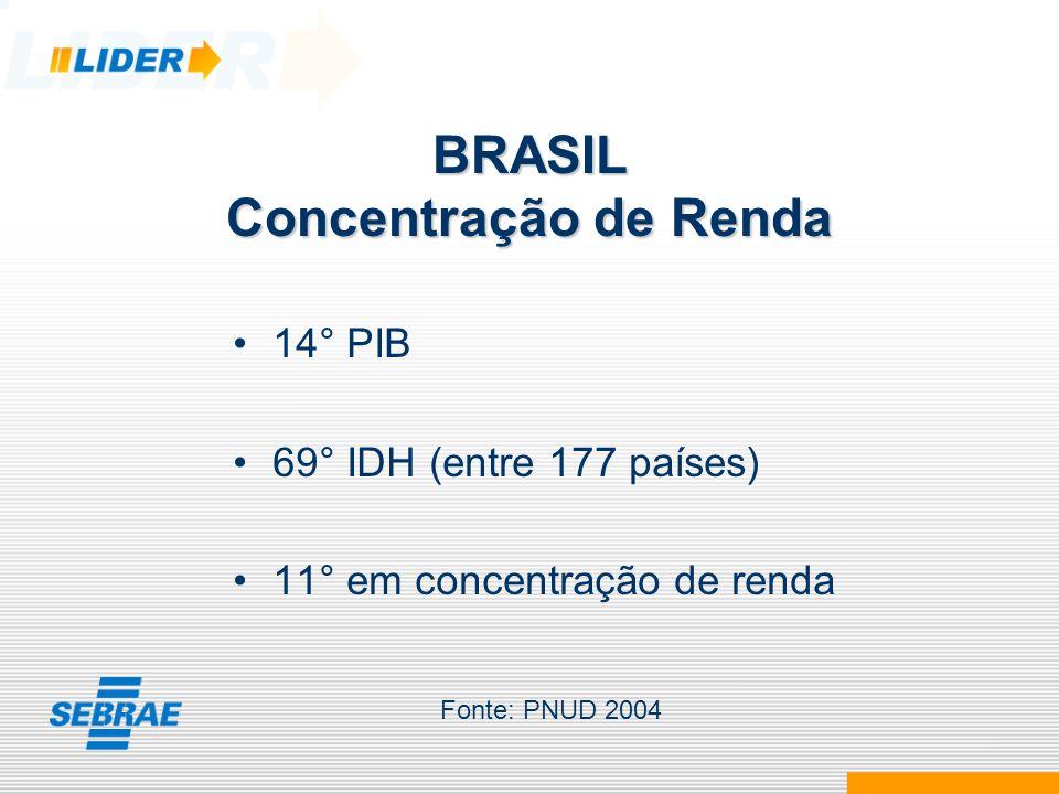 BRASIL Concentração de Renda