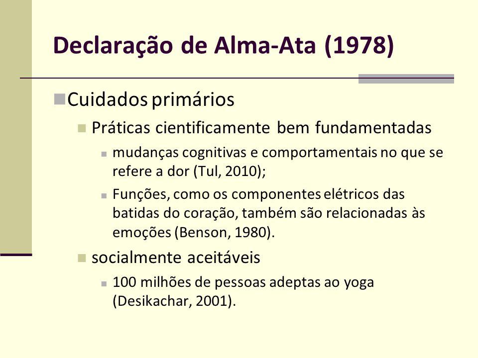 Declaração de Alma-Ata (1978)