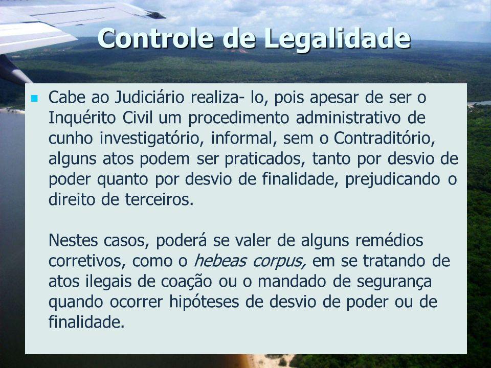 Controle de Legalidade