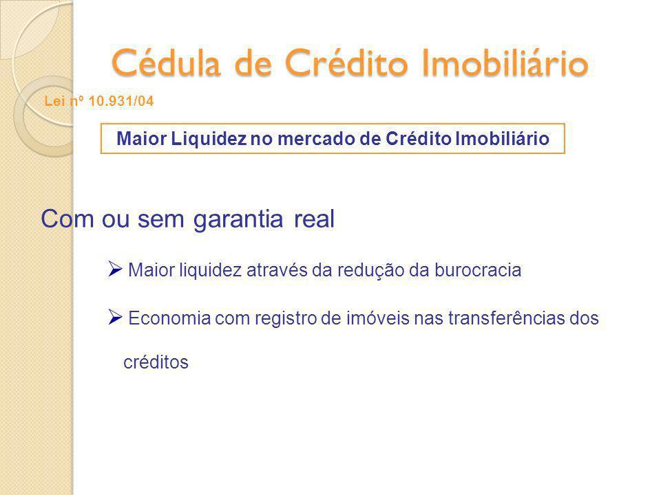 Cédula de Crédito Imobiliário