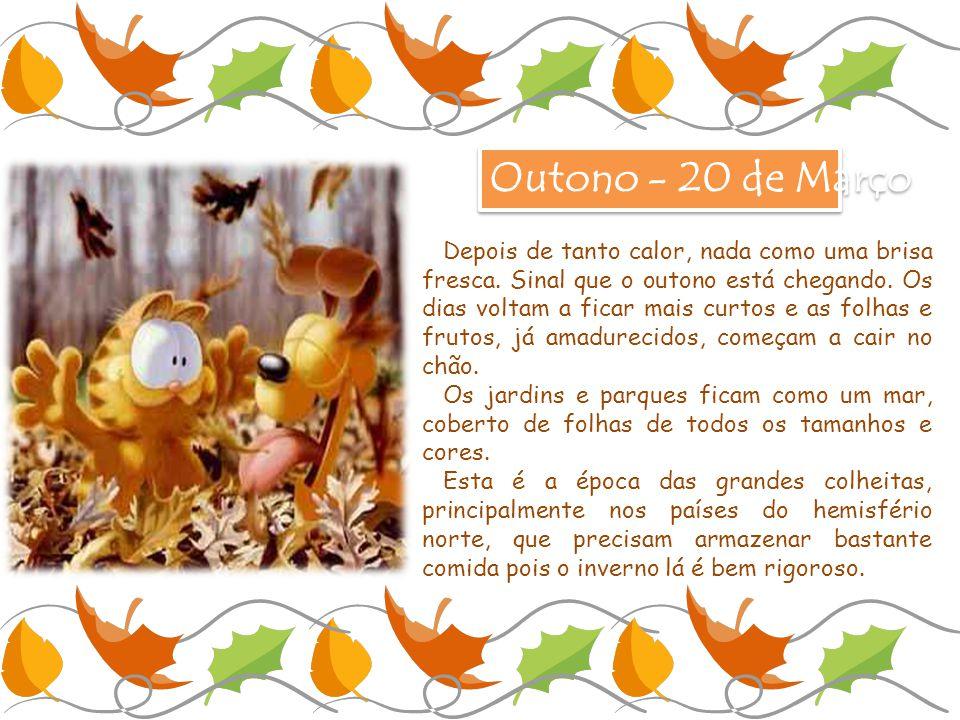 Outono - 20 de Março