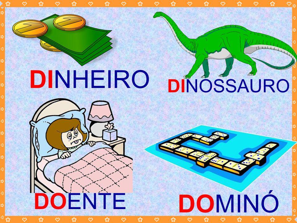 DINHEIRO DINOSSAURO DOENTE DOMINÓ