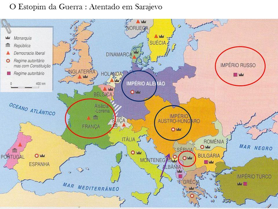 O Estopim da Guerra : Atentado em Sarajevo