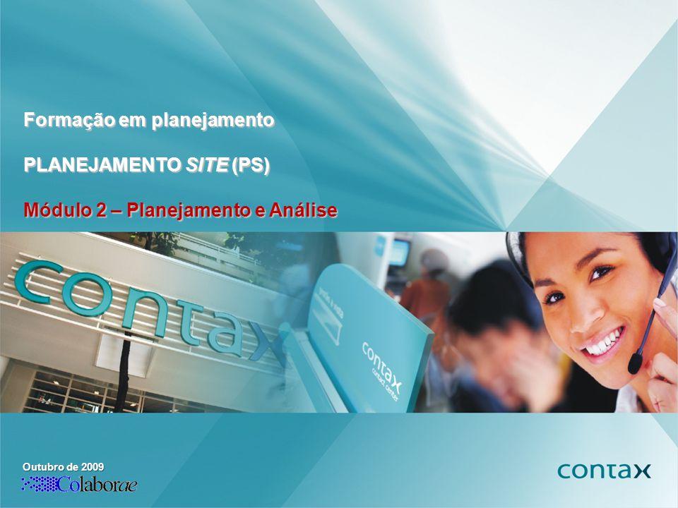 Formação em planejamento PLANEJAMENTO SITE (PS)