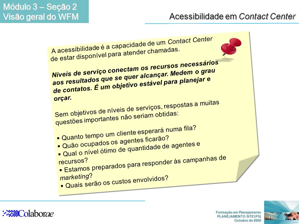 Acessibilidade em Contact Center