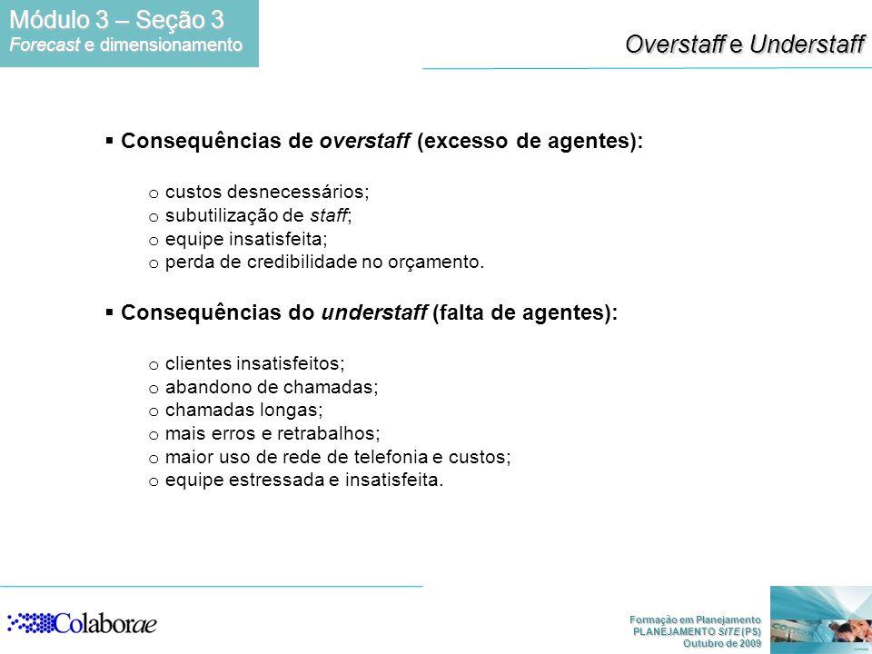 Overstaff e Understaff