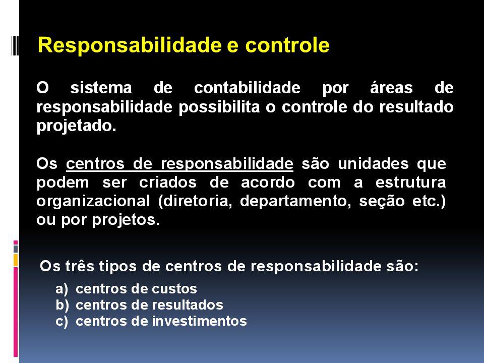 Responsabilidade e controle