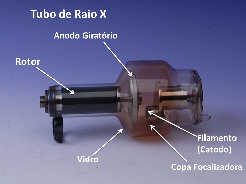 Tubo de Raio X Rotor Anodo Giratório Filamento (Catodo) Vidro