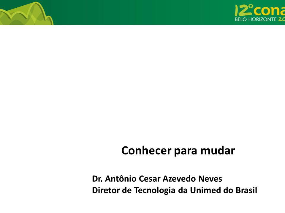 Conhecer para mudar Dr. Antônio Cesar Azevedo Neves