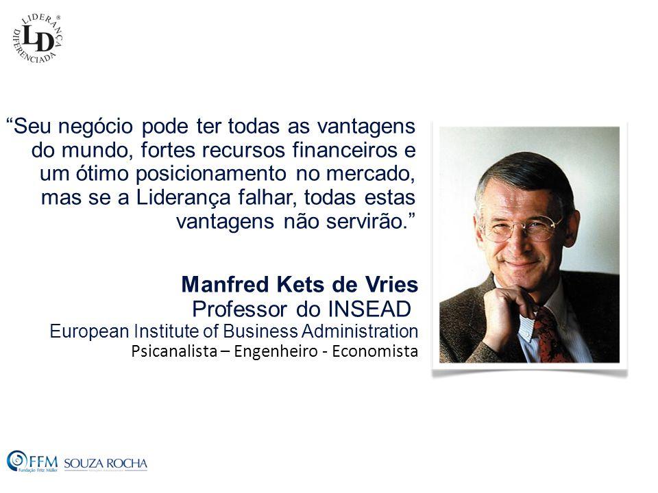 Manfred Kets de Vries Professor do INSEAD