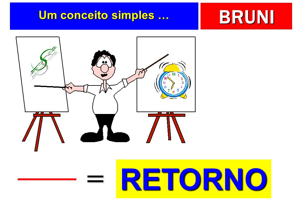 Um conceito simples … = RETORNO