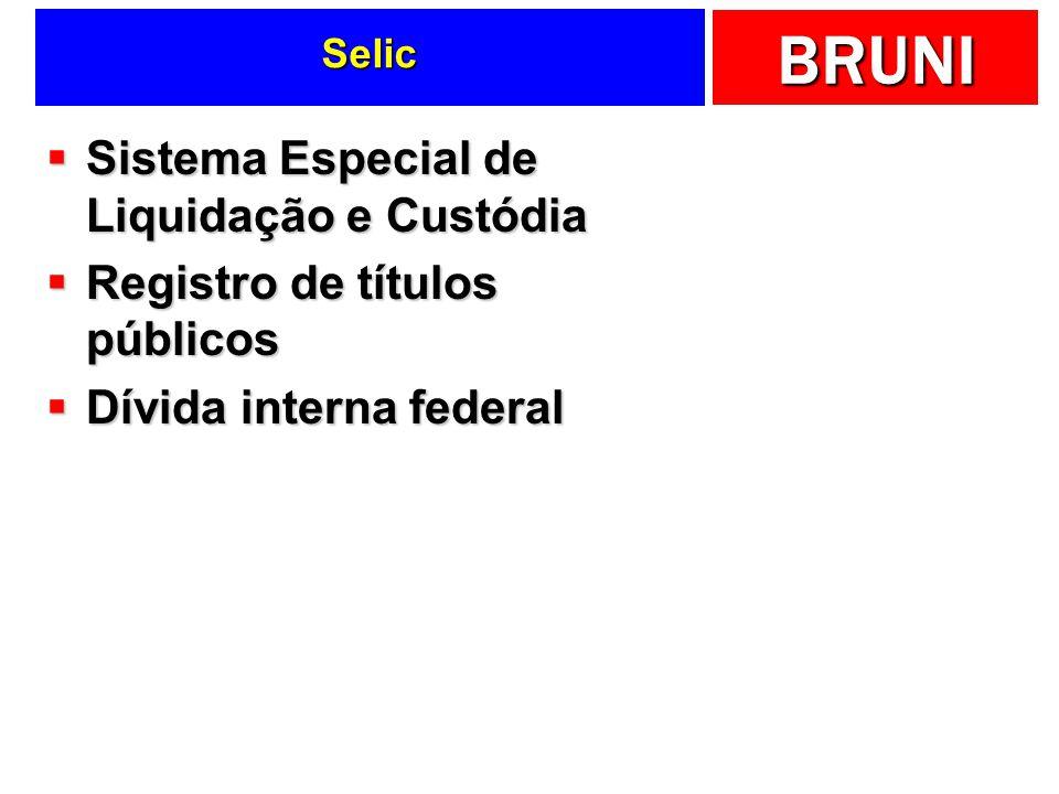 Sistema Especial de Liquidação e Custódia Registro de títulos públicos