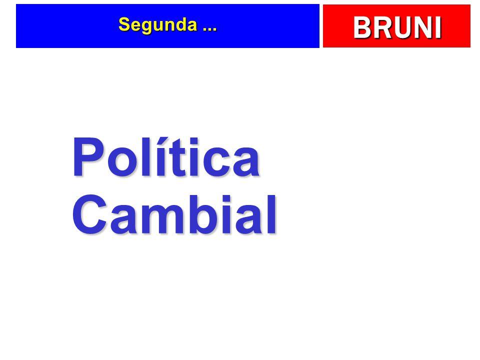 Segunda ... Política Cambial