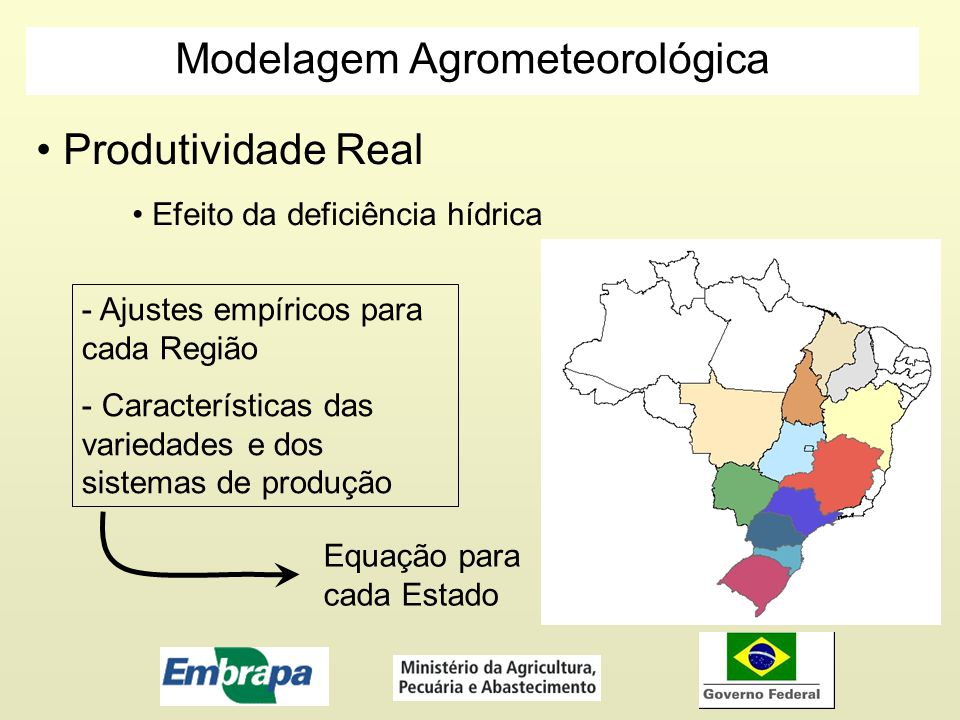 Modelagem Agrometeorológica