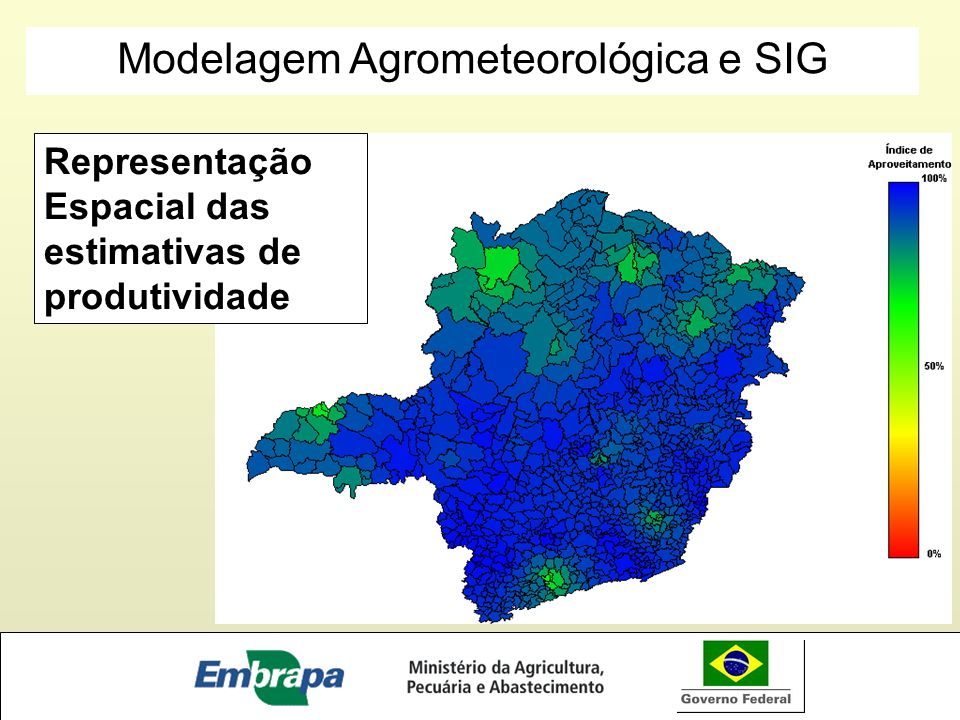 Modelagem Agrometeorológica e SIG