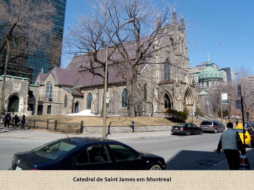 Catedral de Saint James em Montreal