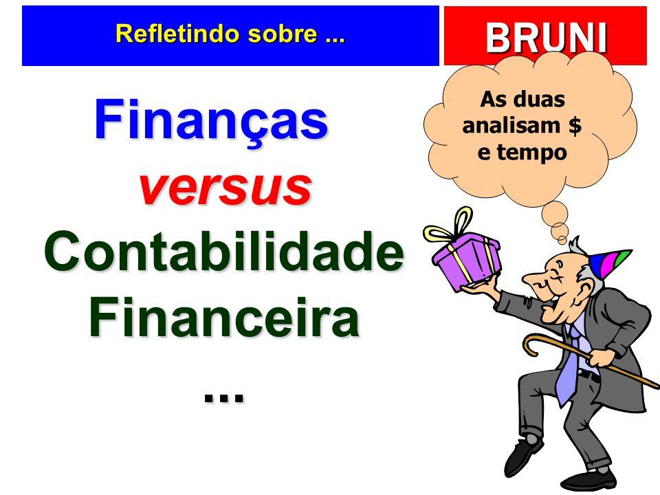 Finanças versus Contabilidade Financeira ...