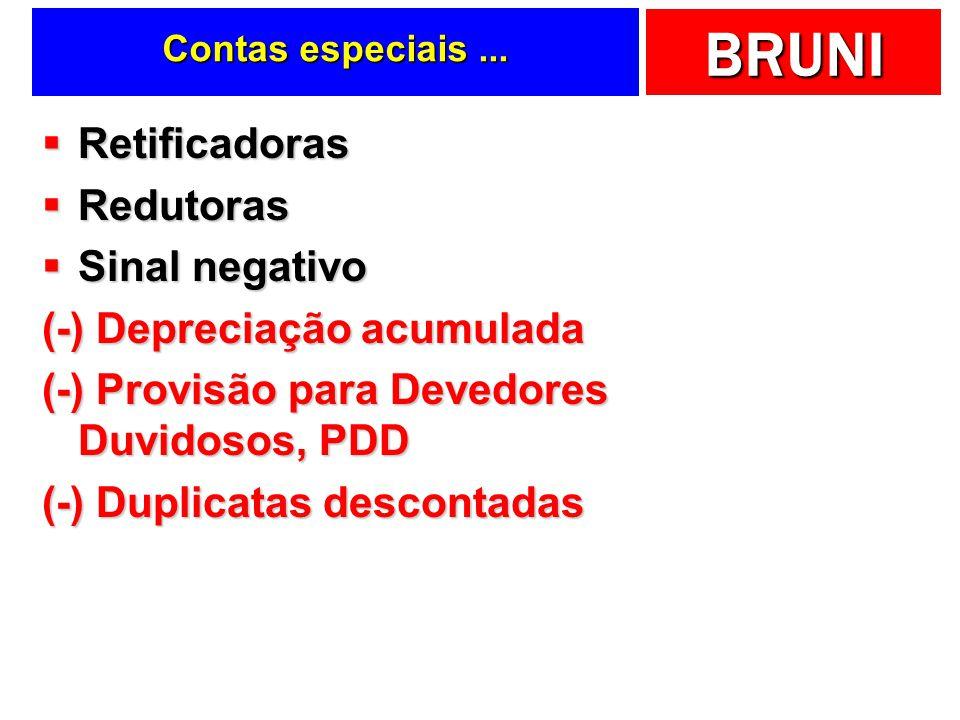 (-) Depreciação acumulada (-) Provisão para Devedores Duvidosos, PDD