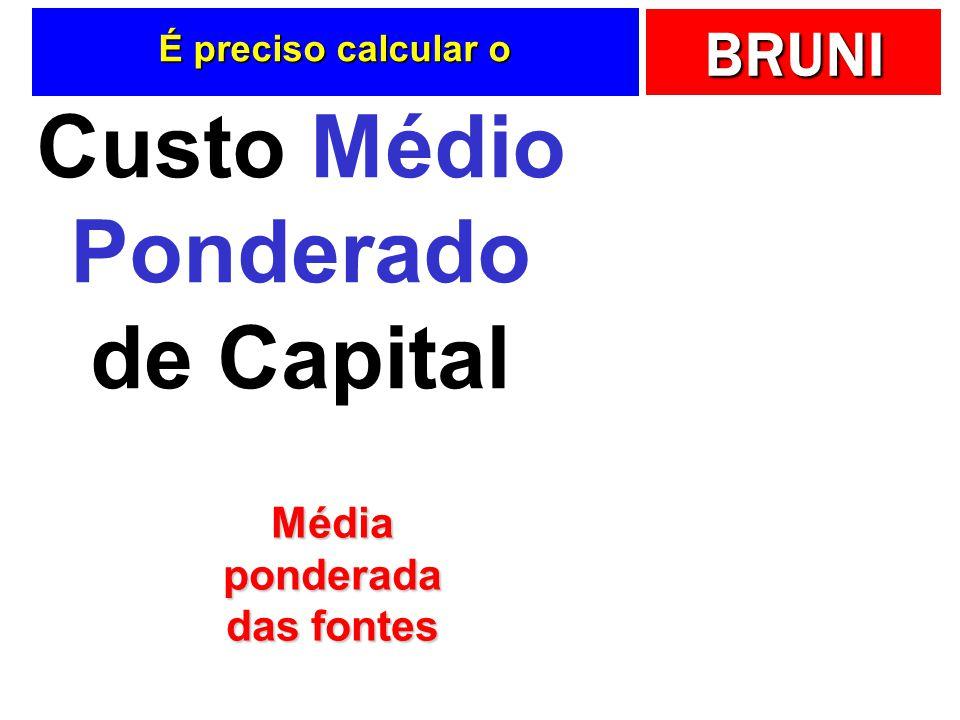 Custo Médio Ponderado de Capital