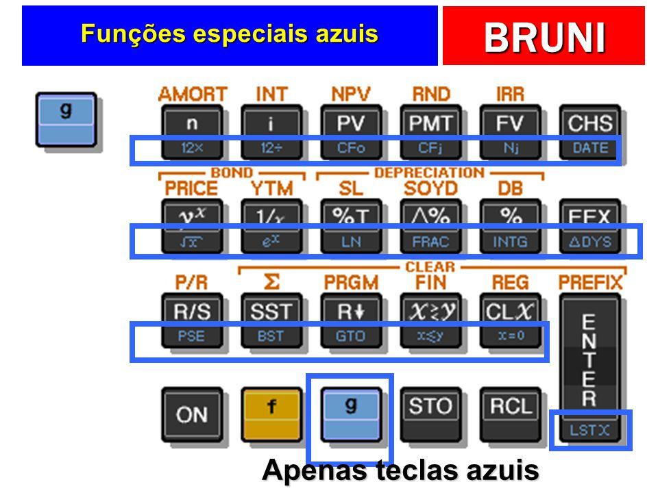 Funções especiais azuis