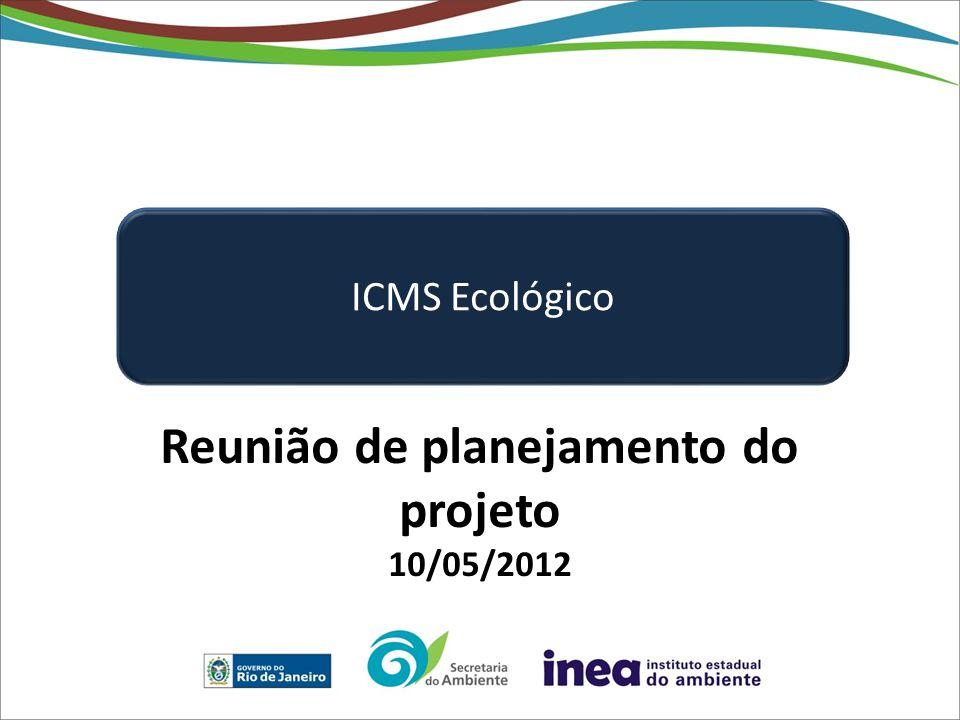 Reunião de planejamento do projeto 10/05/2012