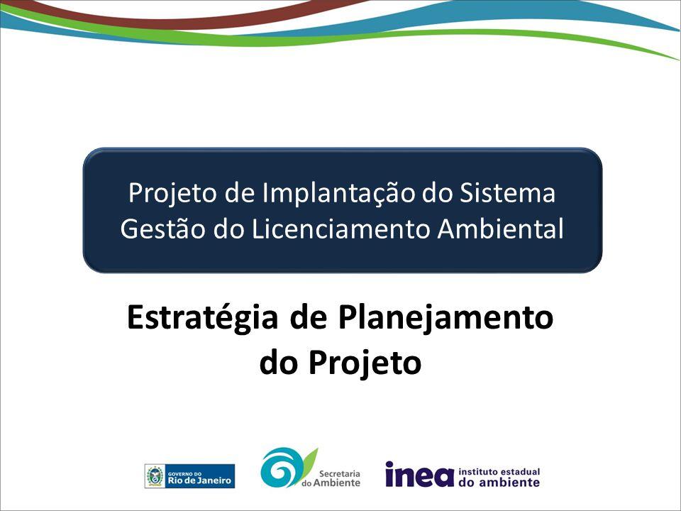 Estratégia de Planejamento do Projeto
