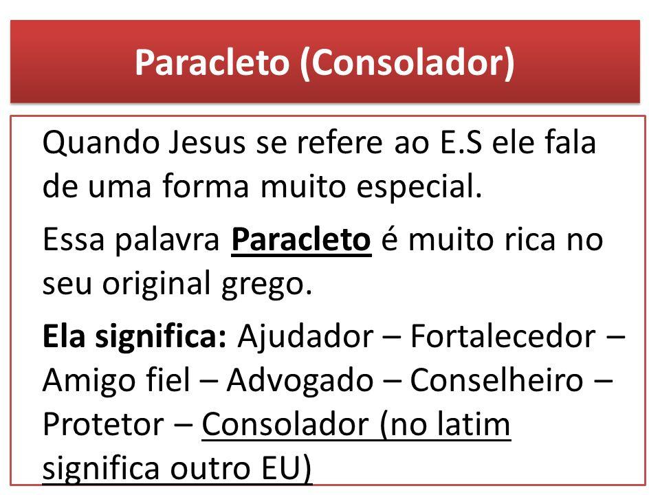 Paracleto (Consolador)
