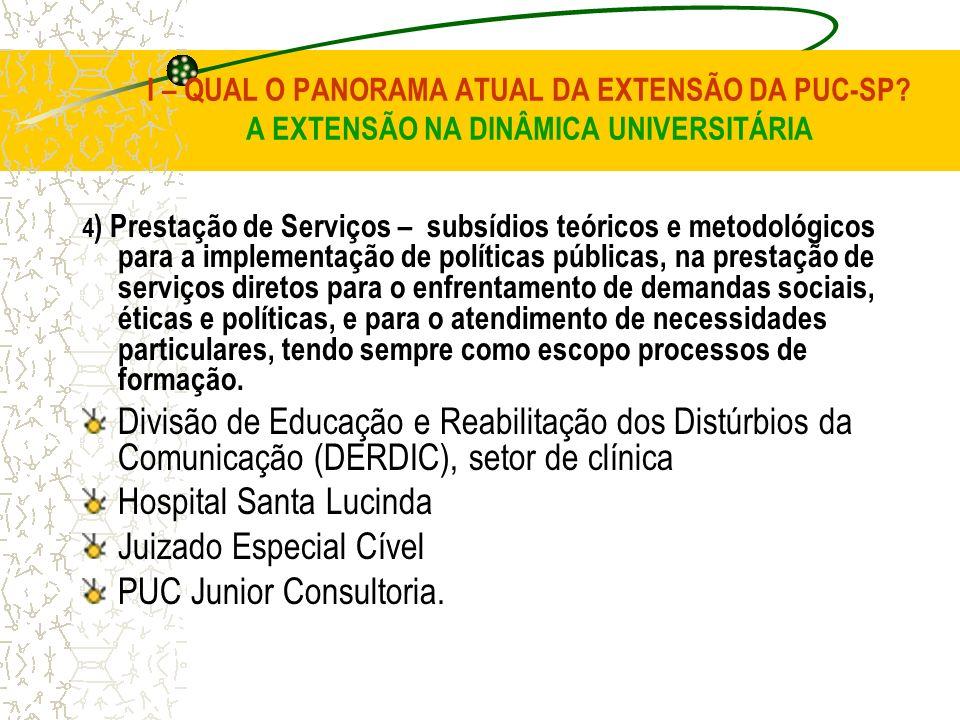 Hospital Santa Lucinda Juizado Especial Cível PUC Junior Consultoria.