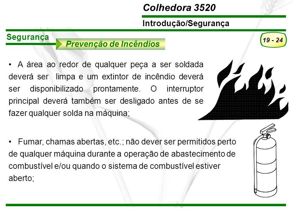 Segurança Prevenção de Incêndios.