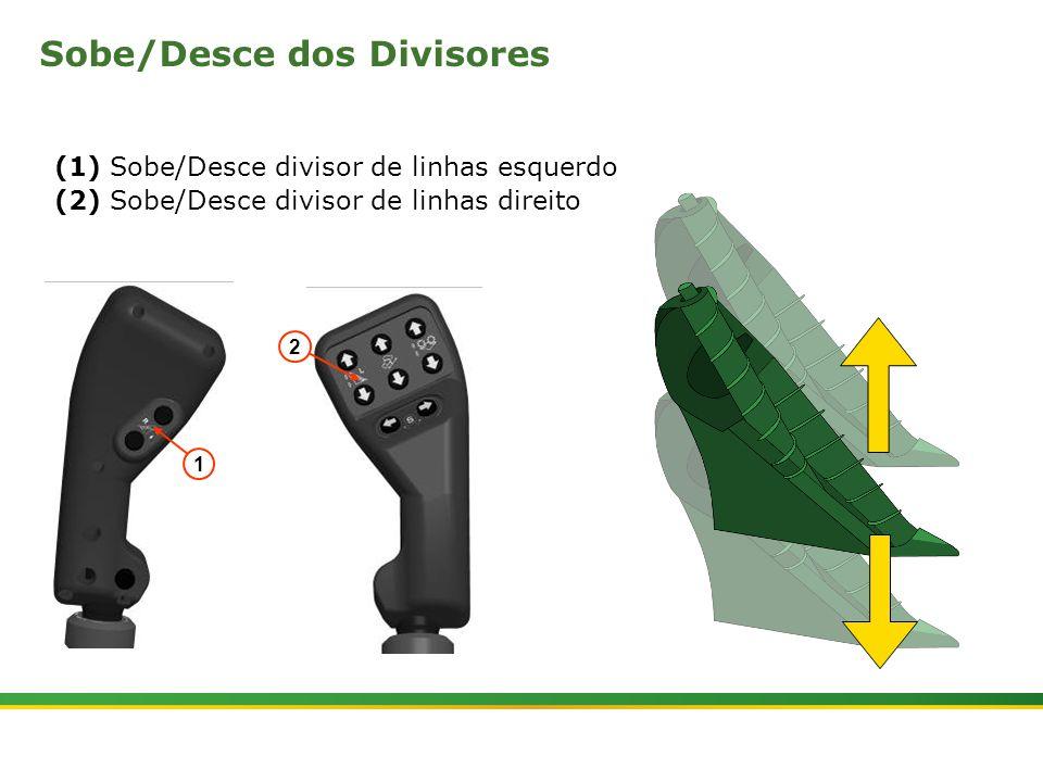 Sobe/Desce dos Divisores