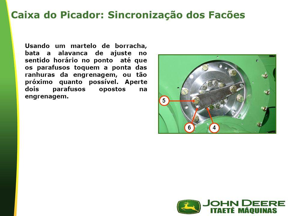 Caixa do Picador: Sincronização dos Facões