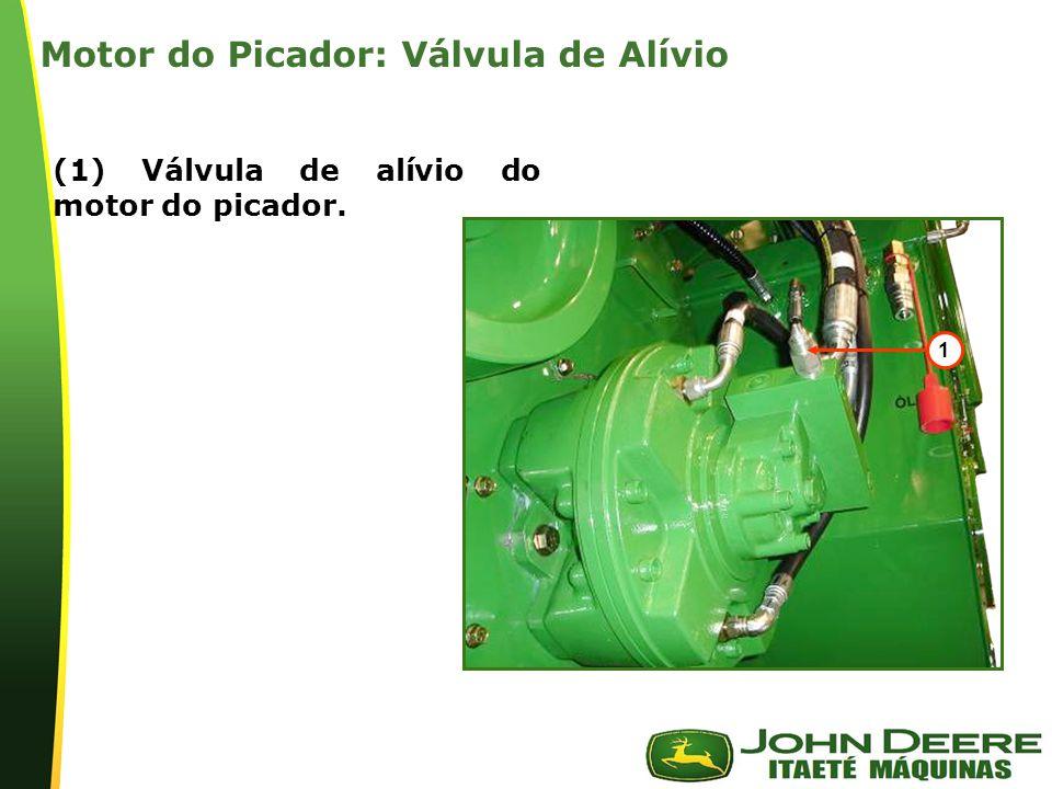 Motor do Picador: Válvula de Alívio