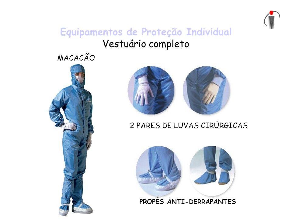 Equipamentos de Proteção Individual Vestuário completo