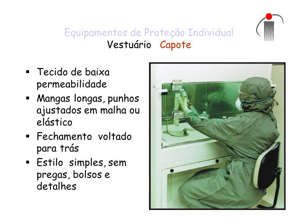 Equipamentos de Proteção Individual Vestuário Capote