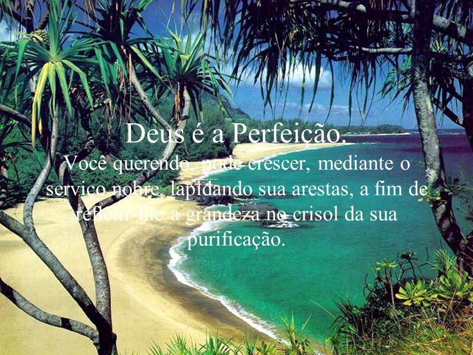 Deus é a Perfeição.