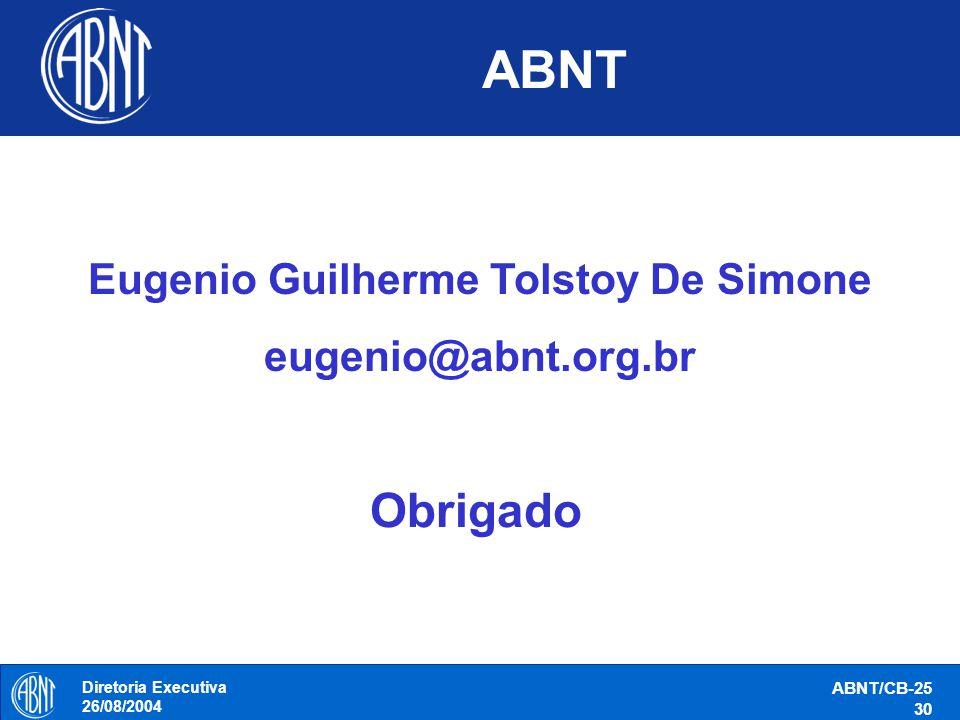 Eugenio Guilherme Tolstoy De Simone