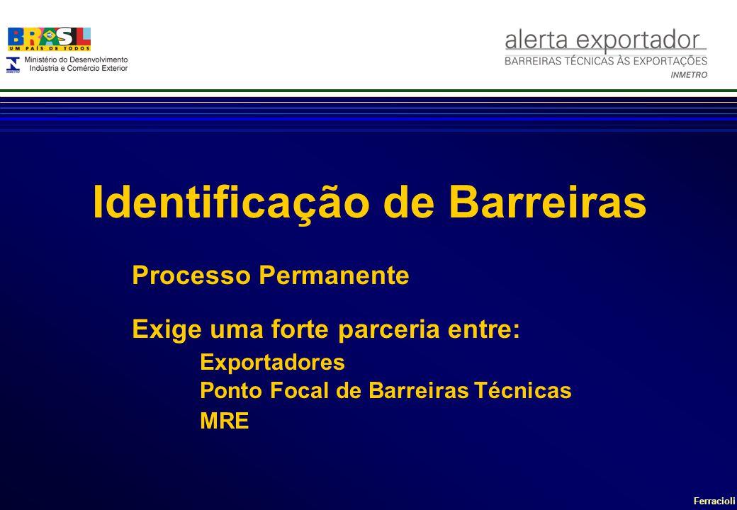 Identificação de Barreiras