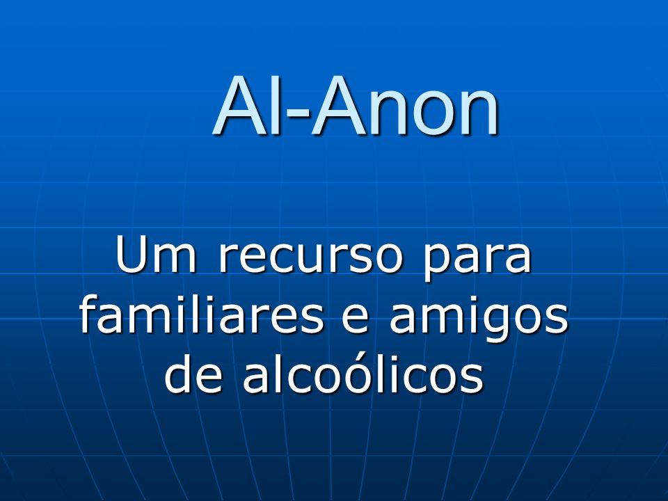 Um recurso para familiares e amigos de alcoólicos