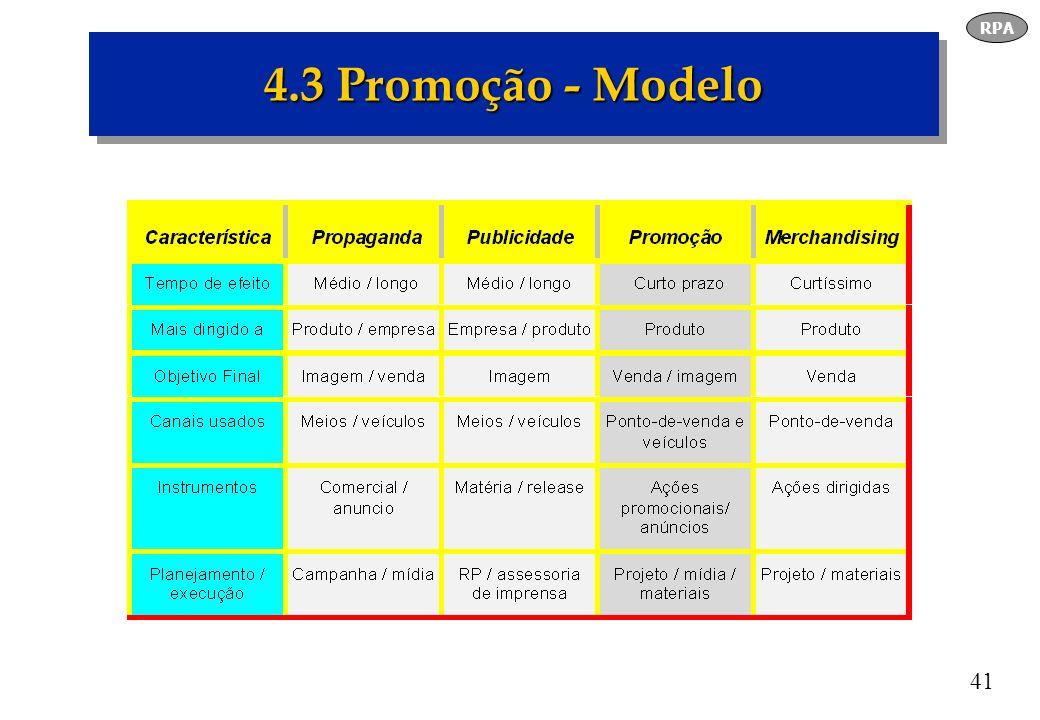 RPA 4.3 Promoção - Modelo