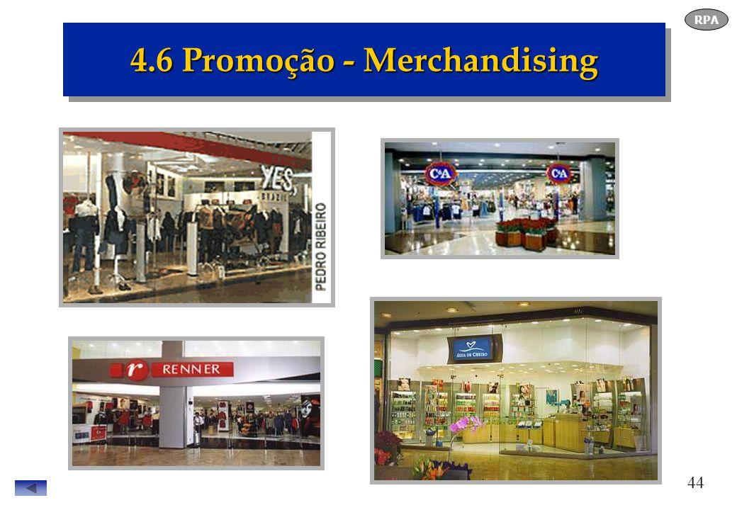 4.6 Promoção - Merchandising