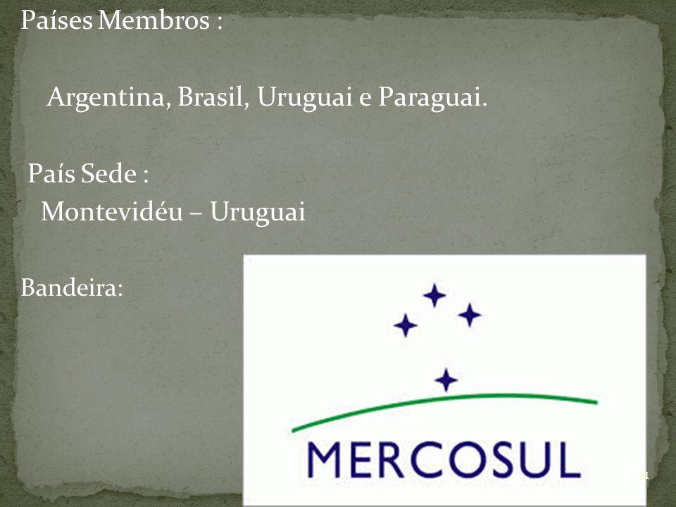 Argentina, Brasil, Uruguai e Paraguai. País Sede :