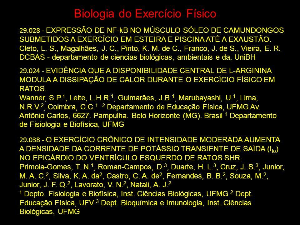 Biologia do Exercício Físico