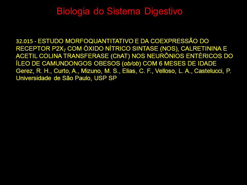 Biologia do Sistema Digestivo