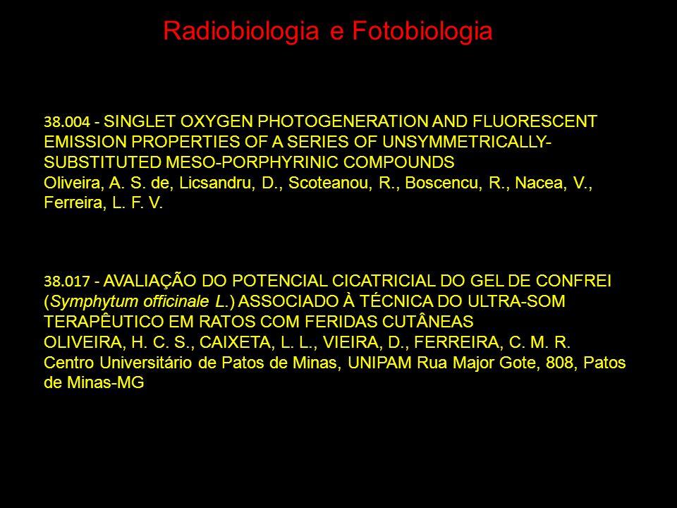 Radiobiologia e Fotobiologia