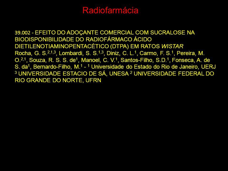 Radiofarmácia