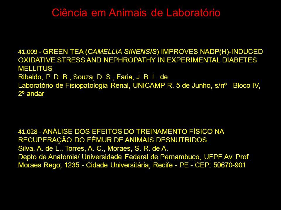 Ciência em Animais de Laboratório